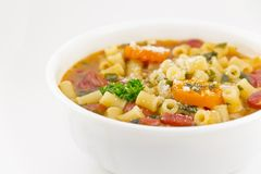 Pasta Fagioli Stock Photos