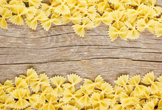 Pasta farfalle Stock Photos