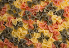 Pasta Farfalle Royalty Free Stock Images