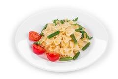 Pasta farfalle. Royalty Free Stock Photo