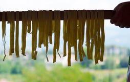 Pasta fatta nella classe di cottura Fotografie Stock Libere da Diritti