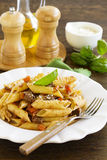 Pasta feathers Stock Image