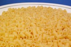 Pasta festival. Compositions of Italian durum wheat pasta Royalty Free Stock Photos