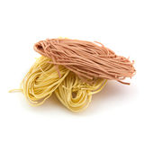 Pasta fettucce Royalty Free Stock Image
