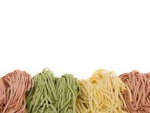 Pasta Fettucce Stock Photography