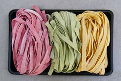 Pasta fettuccine Stock Image