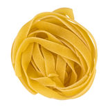 Pasta fettuccine nest Stock Images
