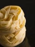 Pasta, Fettuccine, Nests Stock Photo