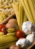 Pasta Fixings 4 Stock Photography
