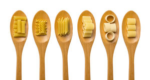 Pasta food selection Royalty Free Stock Photography
