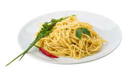 Pasta with four cheeses Royalty Free Stock Photo
