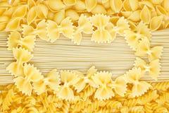 Pasta frame Stock Photos