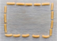 Pasta frame Royalty Free Stock Images