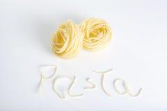 Pasta fresca Fotografie Stock