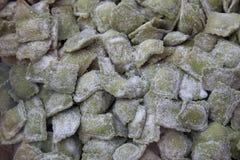 Pasta fresca verde Immagini Stock Libere da Diritti