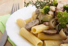 Pasta funghi Royalty Free Stock Photos