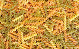 Pasta (Fusilli) Stock Photography