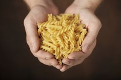 Pasta Fusilli Royalty Free Stock Photo