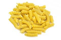 Pasta fusilli Stock Images