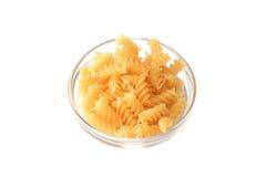 Pasta Fusilli Stock Photography