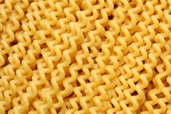 Pasta Fusilli. (Fusilli lunghi bucati). Background. Close-up Royalty Free Stock Images