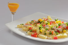 Pasta is a generic term for italian noodles Royalty Free Stock Photo
