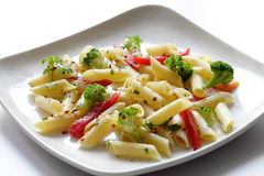 Pasta is a generic term for italian noodles Royalty Free Stock Image