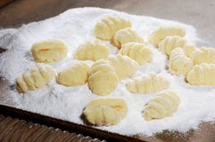 Pasta Gnocchi Stock Photo