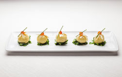 Italian Fine Dining Appetizer Royalty Free Stock Image