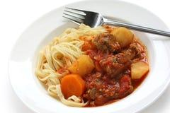 Pasta goulash Royalty Free Stock Photos