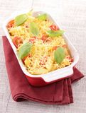 Pasta gratin Stock Photos