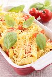 Pasta gratin Royalty Free Stock Photos