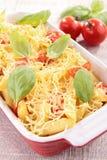 Pasta gratin Royalty Free Stock Photos