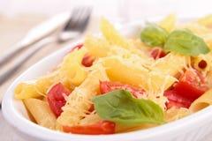 Pasta gratin Stock Photos