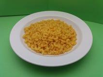 Pasta grezza dei maccheroni Immagine Stock
