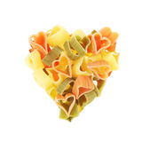 Pasta Heart Stock Photos