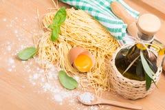 Pasta homemade Stock Image