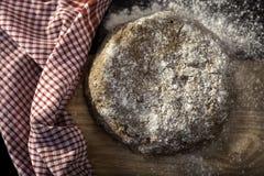 Pasta impastata Immagini Stock