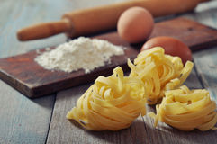 Pasta ingredient Stock Photos