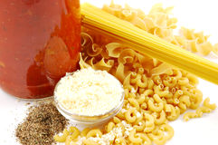 Pasta Ingredients Stock Photos