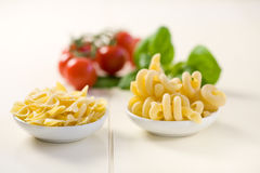 Pasta ingredients Stock Photography