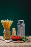 Pasta ingredients Royalty Free Stock Image