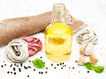 Pasta ingredients Royalty Free Stock Image