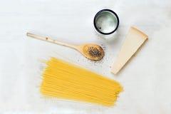 Pasta ingridients Stock Images