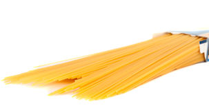 Pasta isolated Stock Images
