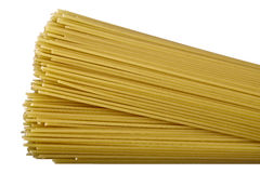 Pasta isolated Stock Photography