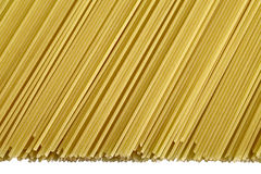 Pasta isolated Stock Photos