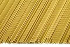 Pasta isolated. Raw pasta isolated on white background. DFF image Stock Photos