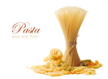 Pasta Isolated Royalty Free Stock Images