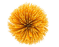 Pasta isolated Stock Photo